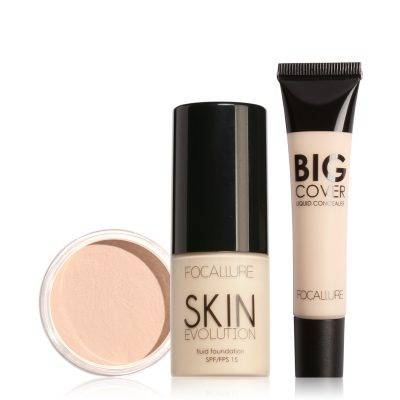 Face Makeup Set with Concealer Cream